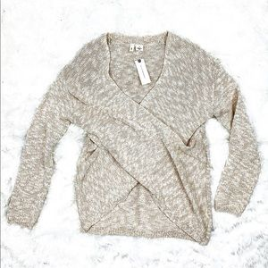 🆕 Anthropologie Moth Crisscross Sweater